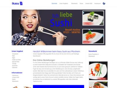 Lieferservice Webshop